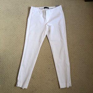 Banana republic Capri white jeans
